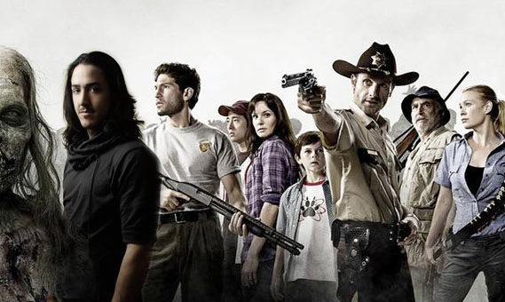 "Daniel Ilabaca crappily photoshopped into ""The Walking Dead"" cast"